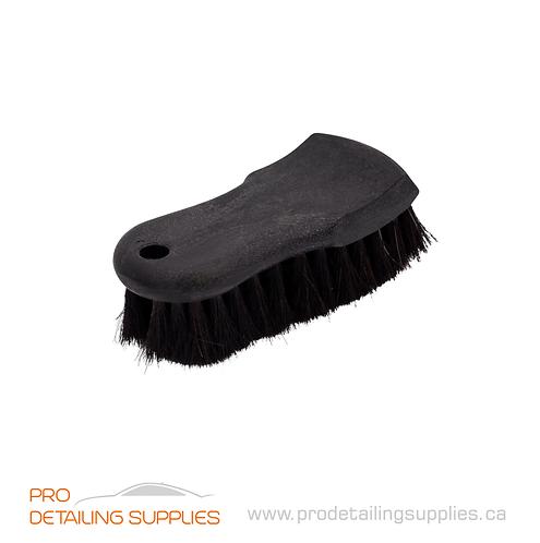 Wheel Woolies (2632BK) Horsehair Leather & Upholstery Brush