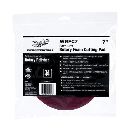 "Meguiar's 7"" Soft Buff Rotary Foam Cutting Pad"