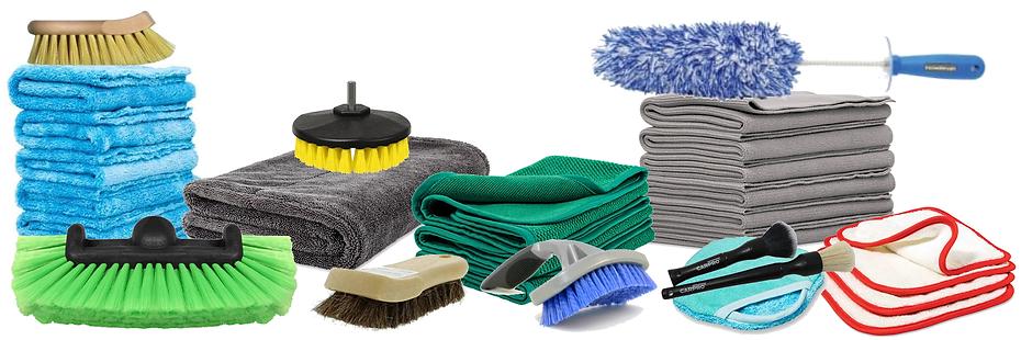 Car Detailing Brushes & Towels