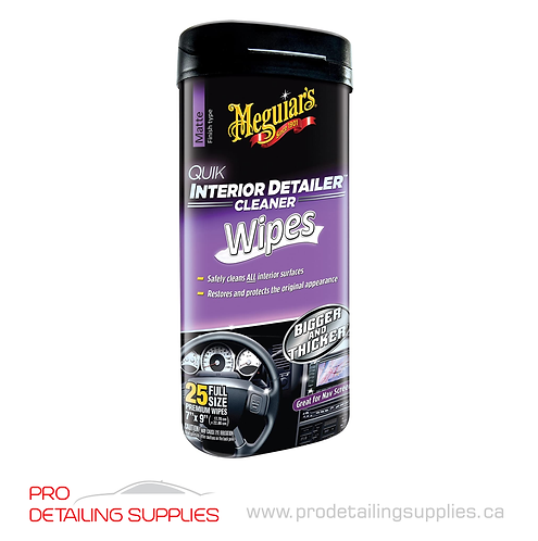 Meguiar's Interior Detailing Cleaning Wipes - 25 pk
