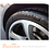 Sonax (235200) Tire Gloss Gel showing on tire