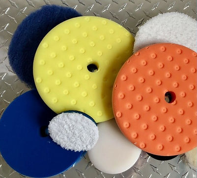 car buffing pads