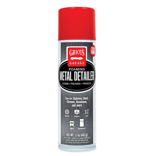 Griot's Garage Foaming Metal Detailer