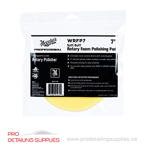 Meguiar's (WRFP7) Soft Buff Rotary Foam Polishing Pad