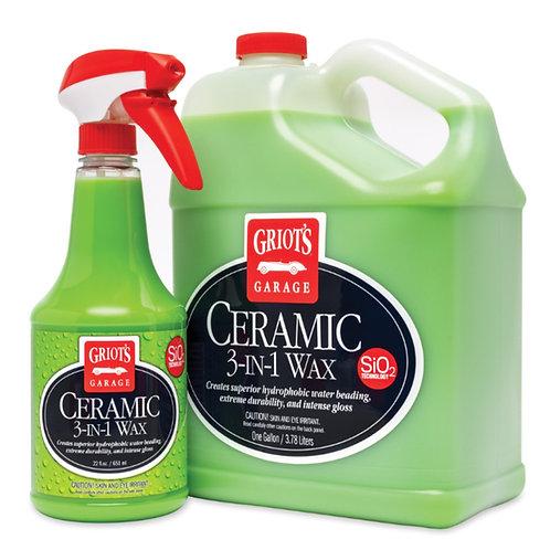 Griot's Garage 3-In-1 Ceramic Wax