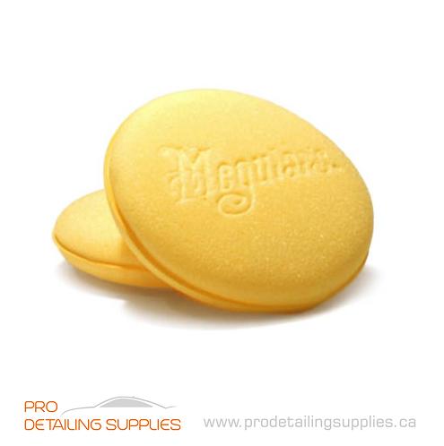Meguiar's (W0004) Soft Foam Applicator Pads - 4 pk