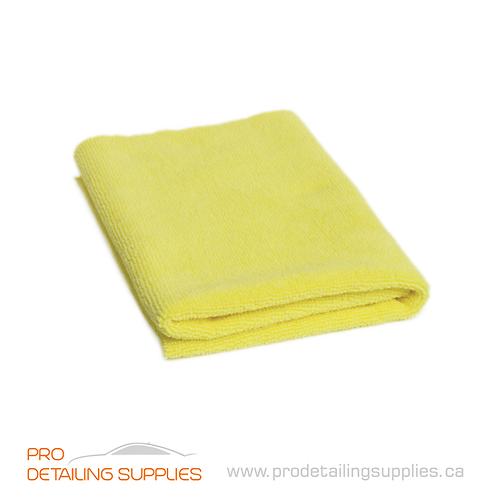 Microfiber Madness Yellow Fellow Polish Removal Towel