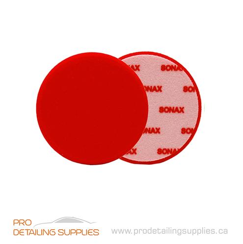 Sonax Red Heavy Cutting Pad
