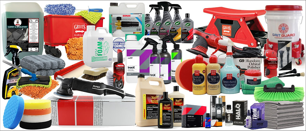 Detailing Products & Supplies