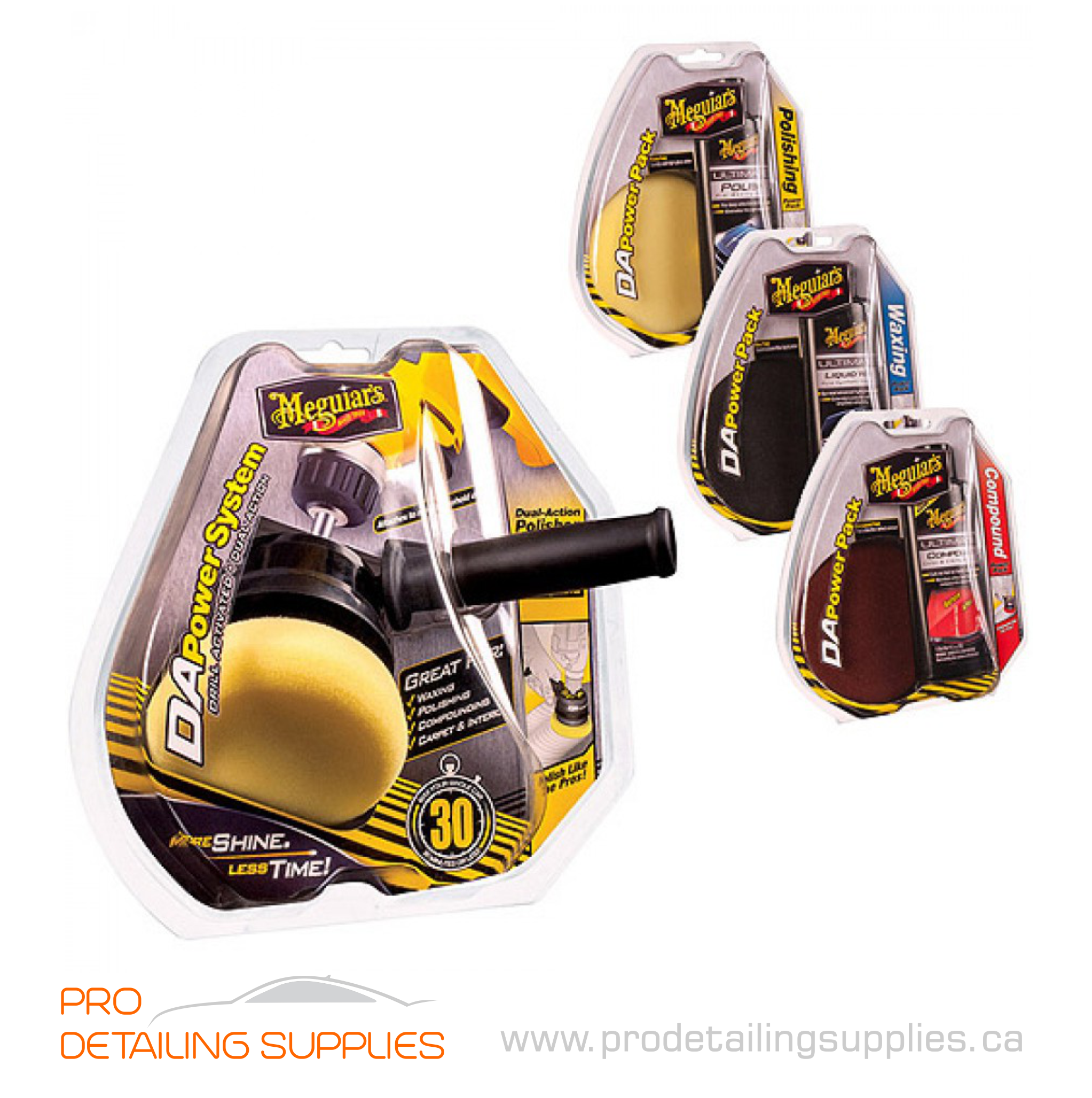 Meguiars G3507 DA Compound Power Pads