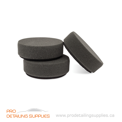 "Griot's Garage (11274) 3"" Black Foam Finishing Pads - 3 pk"