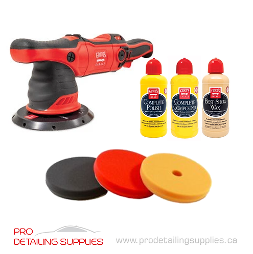 "Griot's Garage G9 6"" Polisher, Pad & Product Kit"