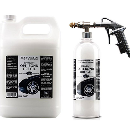 Optimum Opti-Bond Tire Gel & Sprayer Air Compressor Kit