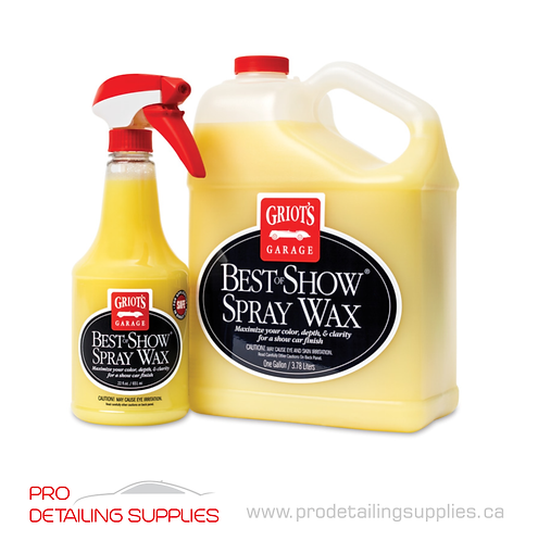 Griot's Garage Best of Show® Spray Wax
