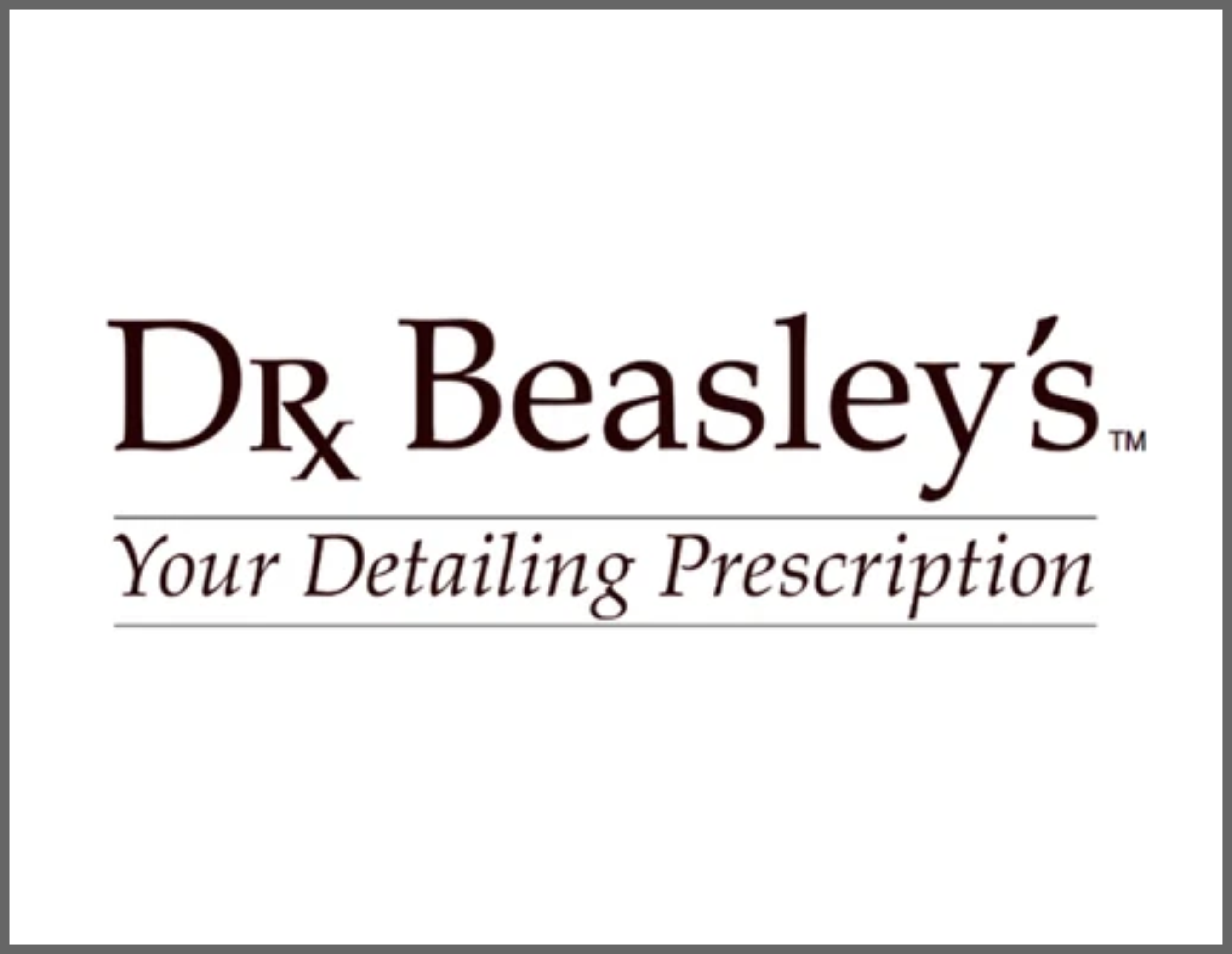 Dr Beasley's detailing products