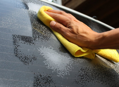 Cleaning Automotive Glass