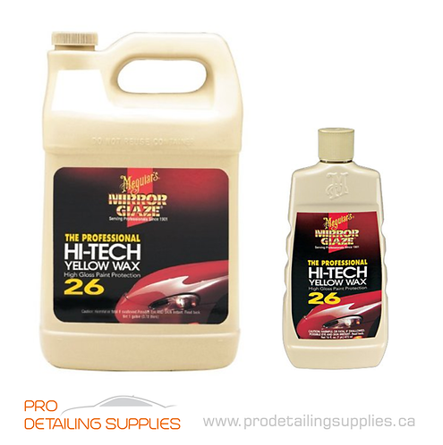 Meguiar's (M26) Mirror Glaze High-Tech Yellow Wax