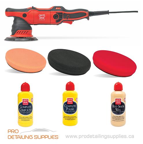 "Griot's Garage G9 6"" Polisher, Pad & Product Kit"