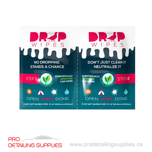 Drop Wipes Bird Dropping Remover