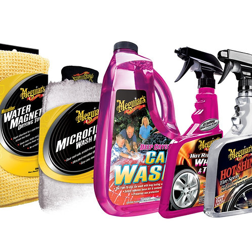 Meguiar's Car, Rim & Tire Wash Kit