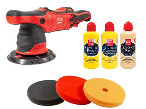 Griot's Garage G9 Polisher, Pad & Product Kit
