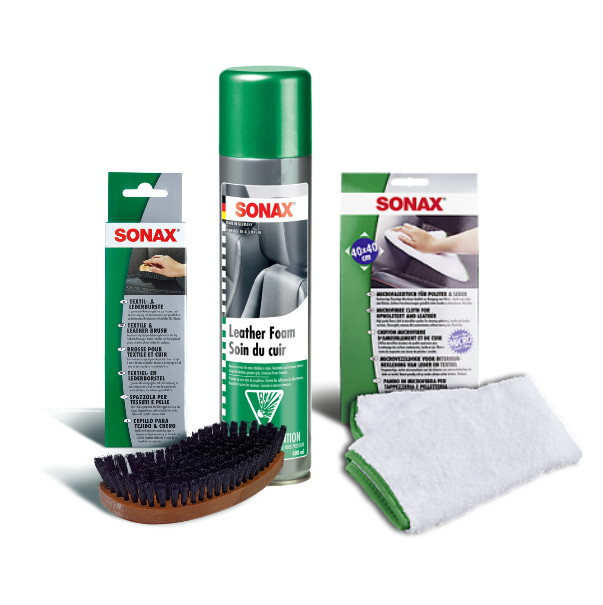 Sonax Leather Care Kit