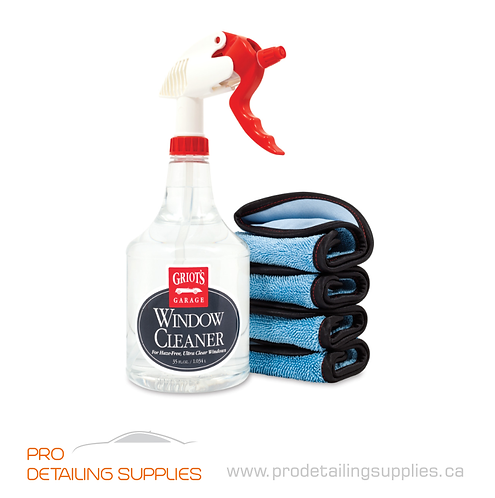 Griot's Garage Window Cleaning Kit