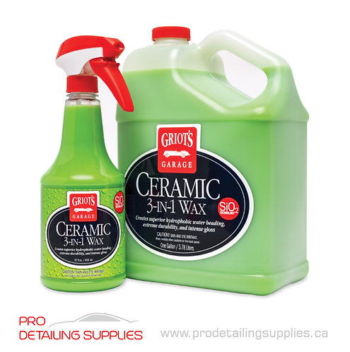 Griot's Garage (10978) 3-In-1 Ceramic Wax