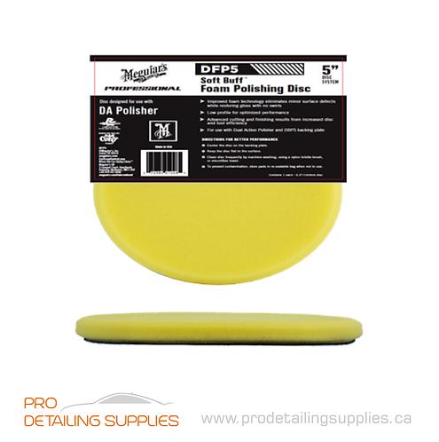 Meguiar's Soft Buff D/A Foam Polishing Disks