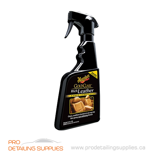 Meguiar's (G10916C) Gold Class™ Rich Leather Cleaner & Conditioner - 16 oz