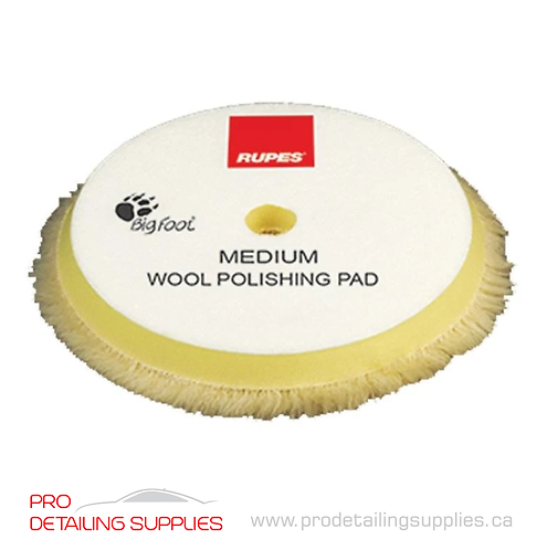 Rupes Medium Wool Polishing Pad (2 Sizes)