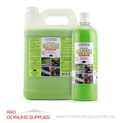 Optimum No-Rinse Wash & Wax