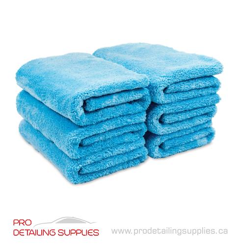 Griot's Garage (14901) Plush Edgeless Microfiber Towels - 6 pack