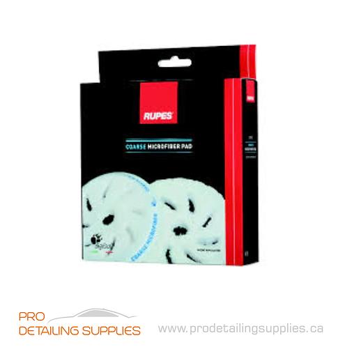 Rupes Coarse Microfiber Pad - 2 pk