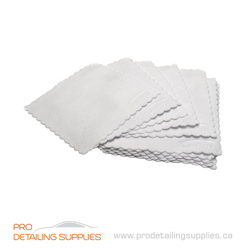 CarPro Sueded Applicator Pad Towel - (10 cm X 10 cm)