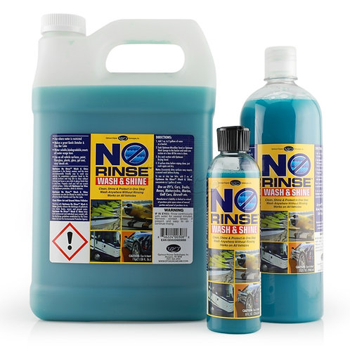 Optimum No-Rinse Wash & Shine