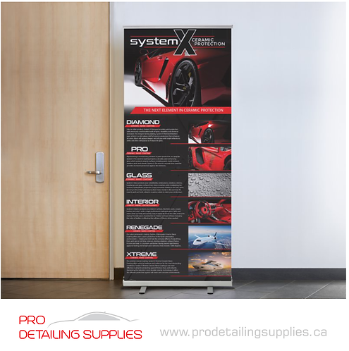 System X Retractable Banner