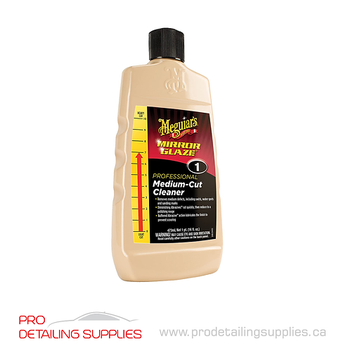 Meguiar's (M0116C) Medium Cut Cleaner - 16 oz