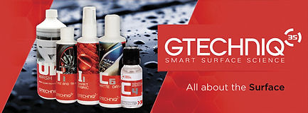 Gtechniq Product line