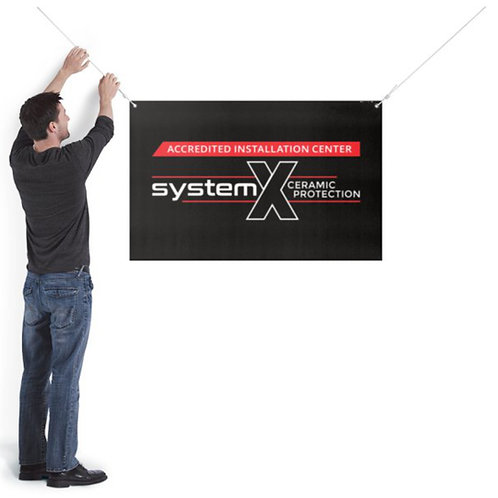 System X Accredited Installer Banner