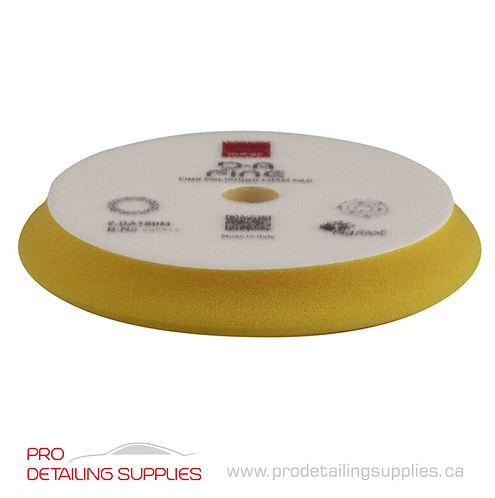 Rupes High Performance Fine Finishing Yellow Foam Pad - D/A