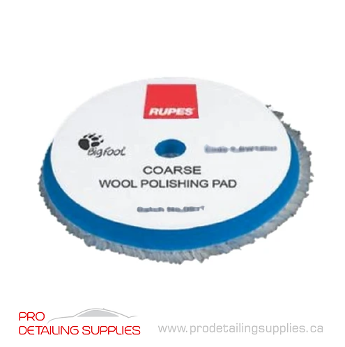Rupes Course Wool Cutting Pad (2 Sizes)