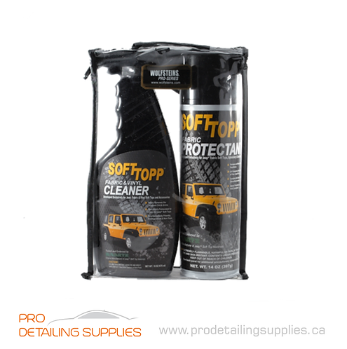 Wolfstein's Softtopp Jeep Fabric Cleaner & Protection Kit