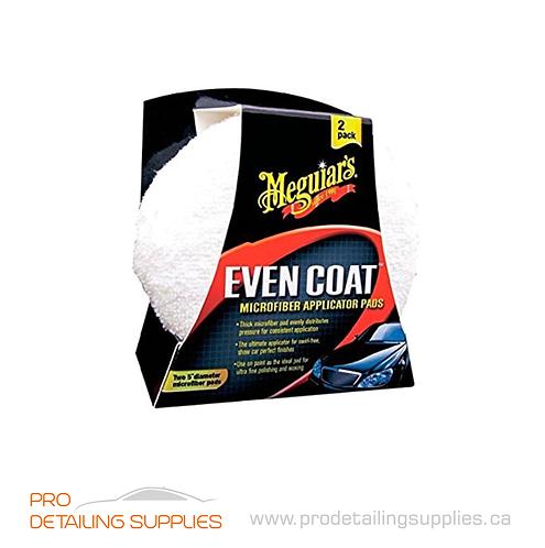 Meguiar's (X3080) Even Coat™ Microfiber Applicator Pads - 2 pk