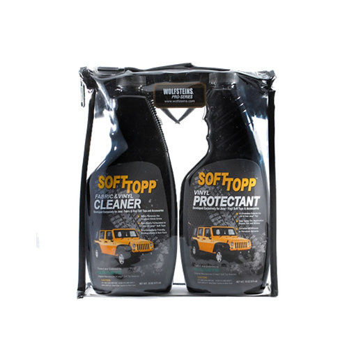 Wolfstein's Softtopp Jeep Vinyl Cleaner & Protection Kit