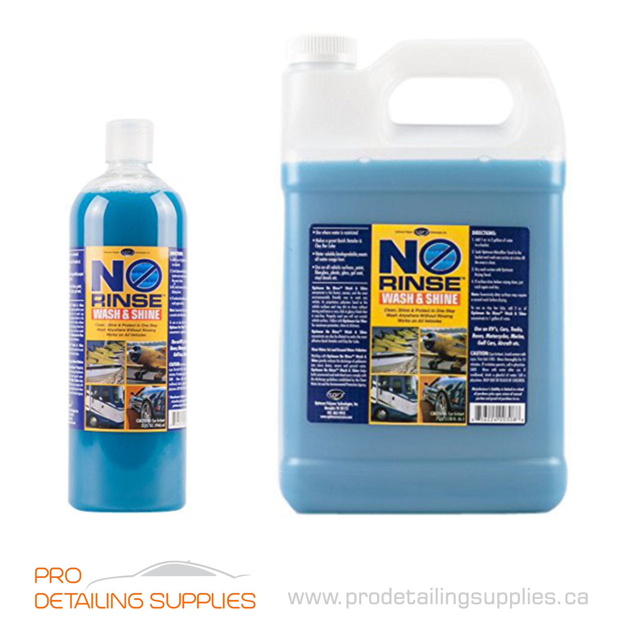 Optimum No Rinse >> Optimum No Rinse Wash Shine Prodetailingsupplies
