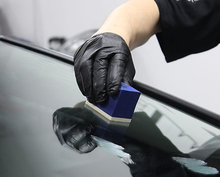 applying ceramic glass coating