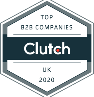 We've been named a top UK Business Provider by Clutch!