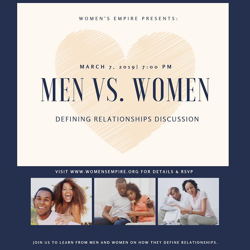 Men vs. Women Defining Relationships