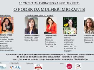 3º Ciclo de Debate - O Poder da Mulher Imigrante